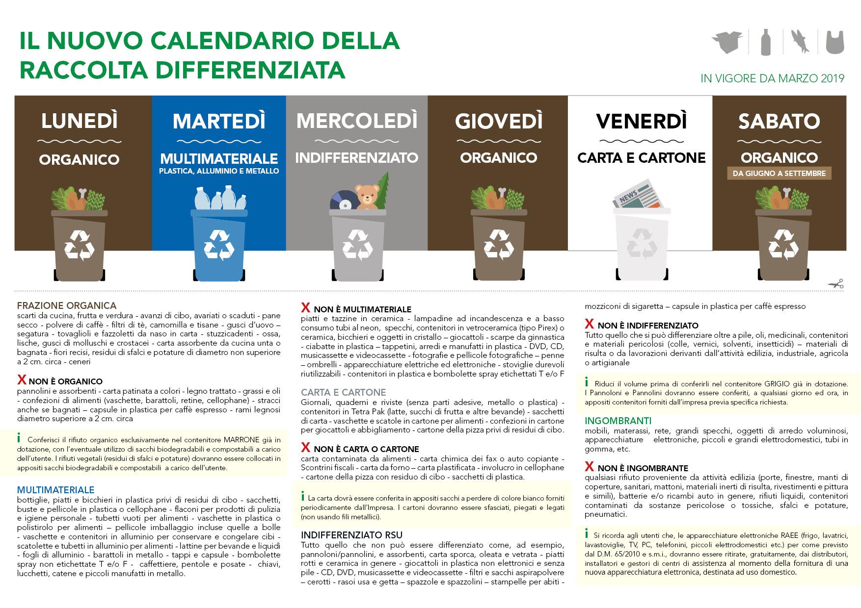 Raccolta Differenziata Cosenza Calendario 2019.San Pietro In Guarano Presila Cosentina Spa